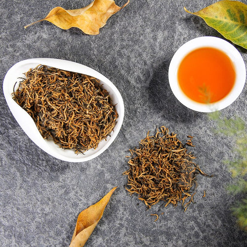 Kim Chun Mei 250g Oolong Tea High Quality Jinjunmei Black Tea To Loose Weight China Green Food