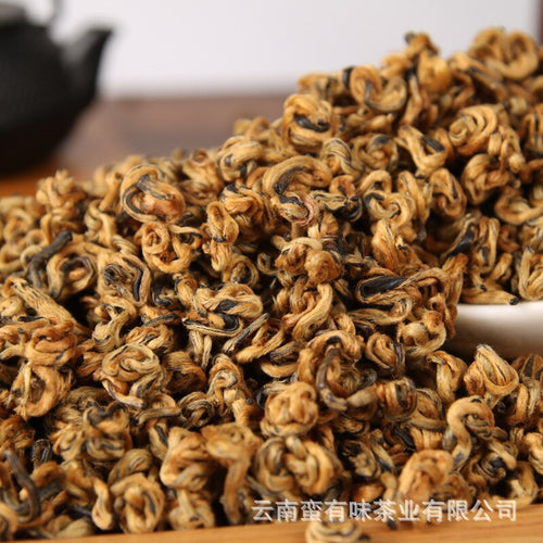 Chinese Yunnan Dian Hong tea High quality AAAAA tea Beauty Slimming Diuretic Down Three Green Food Hongluo Black tea