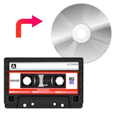 Audio Cassette Tape to CD