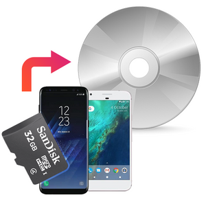 Transfer Mobile Phone Photos and Videos to DVD