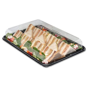 5 x Large Buffet Platters + Lids - Great for Caterers & Perfect For Sandwiches
