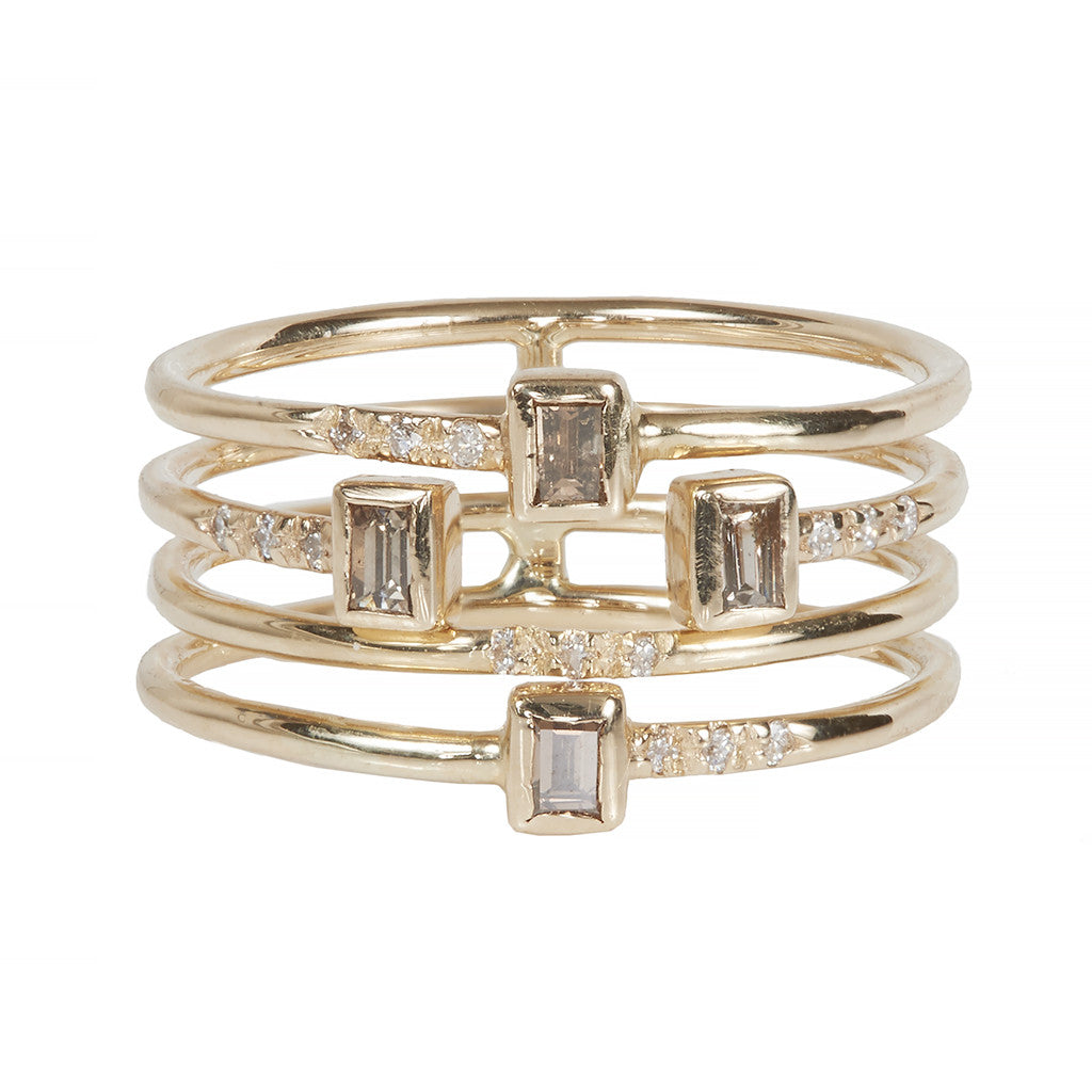 Gravity full four stack ring