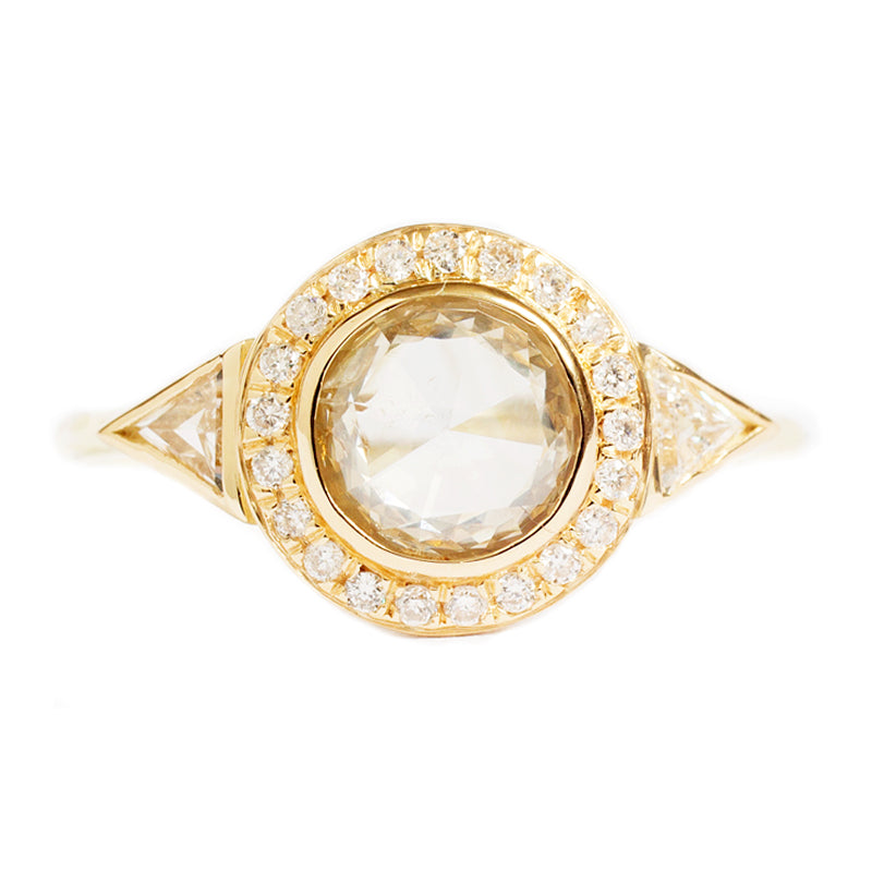 rings white brides styles diamond stone heartsonfire in and engagement bling ring rose gallery halo three gold