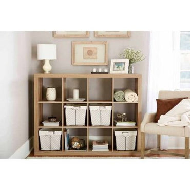 Better Homes and GardensBH15-084-199-09 12-Cube Organizer, Weathered Color (Weathered)