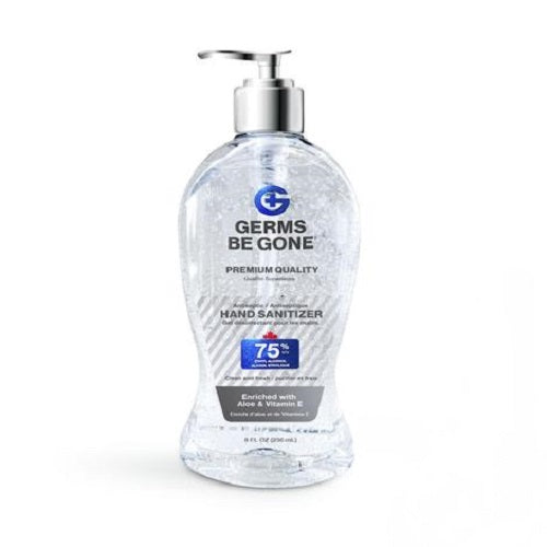 Hand Sanitizer Gel (236 mL) by Germs Be Gone