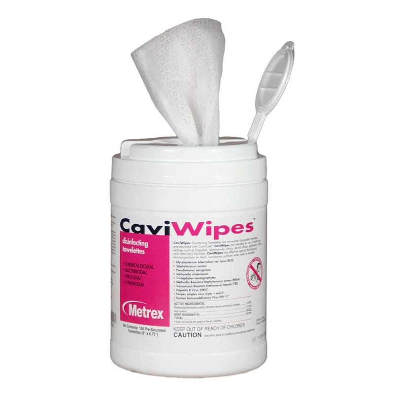 Caviwipes Disinfecting – Cleaning Wipes (Pack of 150)