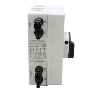 220Vac 50HZ Inverters - AIMS Power Solar PV DC Quick Disconnect Switch 1000V 64 Amps