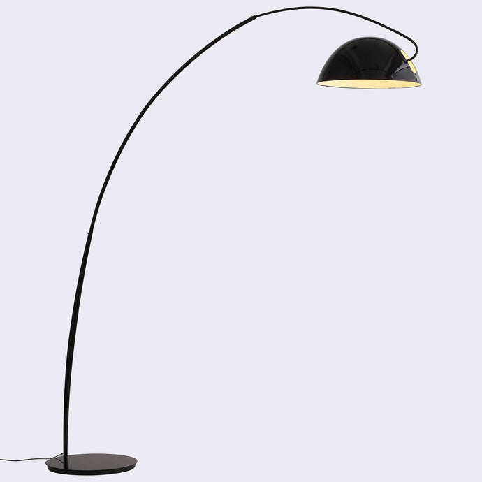 Calvin Floor Lamp Black Aluminum