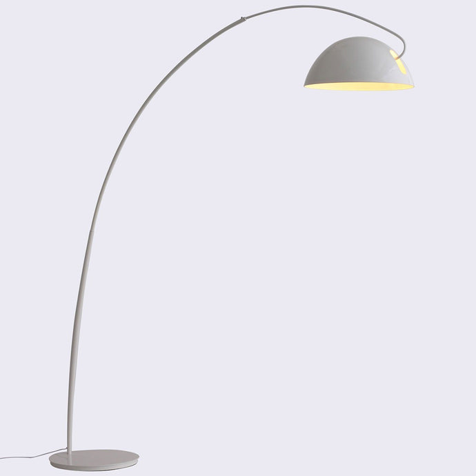Calvin Floor Lamp White Aluminum