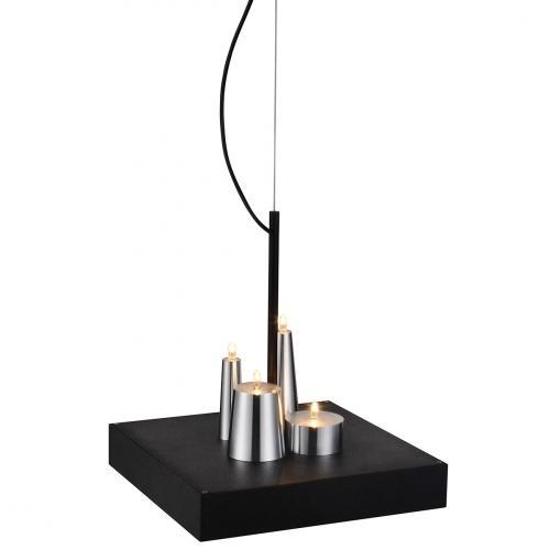 Cesar Pendant Lamp Black Stainless Steel