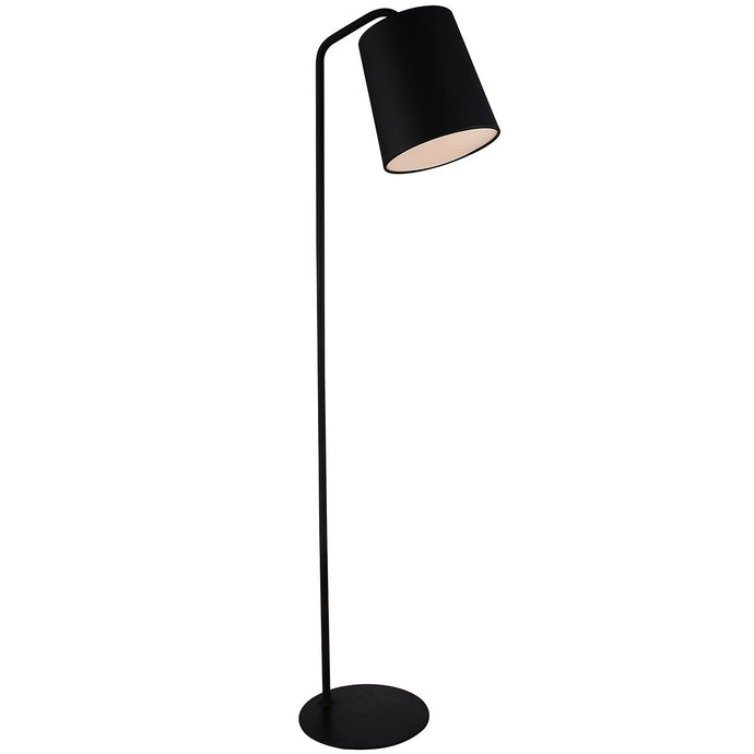 Dante Floor Lamp Black Carbon Steel