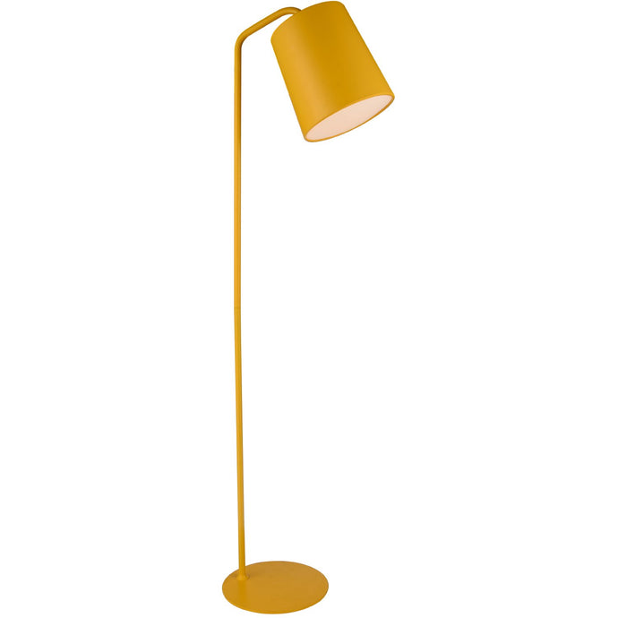 Dante Floor Lamp Yellow Carbon Steel
