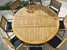 Load image into Gallery viewer, Dining Set - Avant Stacking Chair With Drop Leaf 6' Round Table