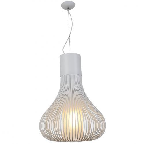 Erik Pendant Lamp Carbon Steel White