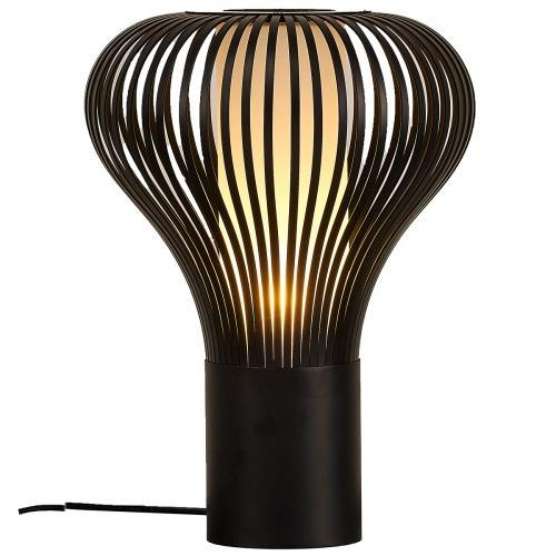 Erik Table Lamp Black Carbon Steel