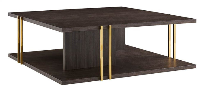 Evelyn Square Coffee Table Wengee Veneer