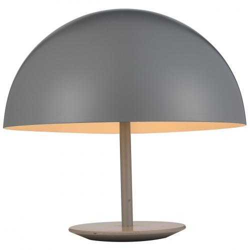Gavin Table Lamp Grey Aluminum