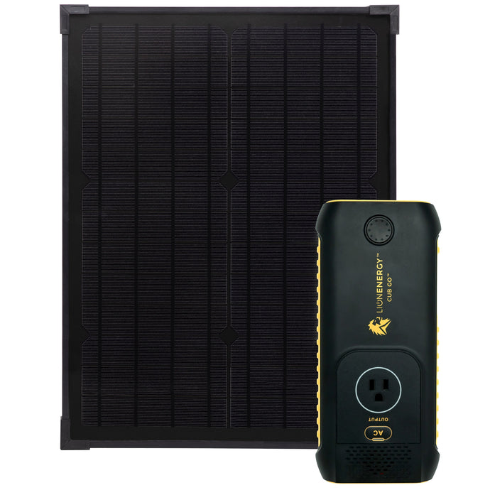 Kit - Cub GO Battery Solar Panel Kit