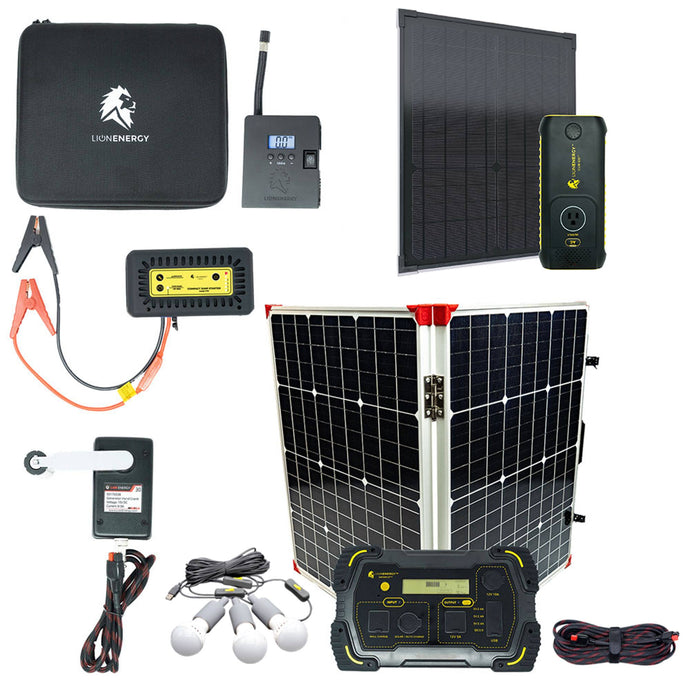 Kit - Emergency Preparedness Solar Power Kit