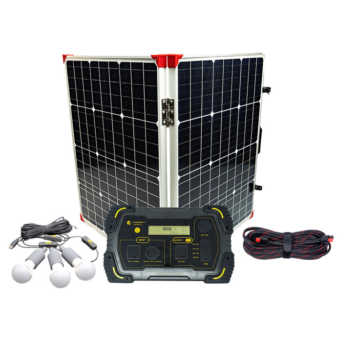 Kit - Off Grid Camping Solar Power Package Kit