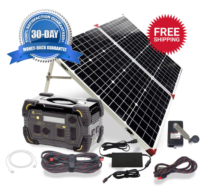 Kit - Safari LT Super Bundle 500W Generator Solar Power Kit