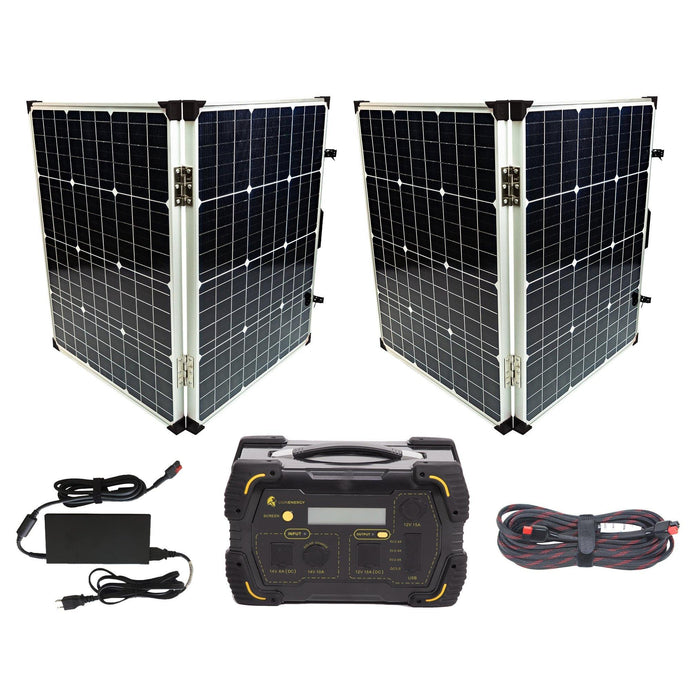 Kit - Ultimate Safari LT 500W Generator With Solar Panels Power Kit
