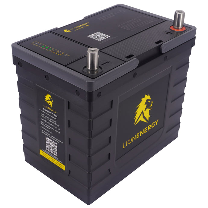 Lithium Batteries - Lion Safari UT 1300 150A Battery