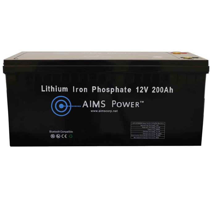 Lithium Battery - Lithium Battery 12V 200Ah LiFePO4 Lithium Iron Phosphate With Bluetooth Monitoring