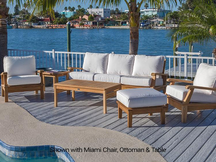 Miami Set - Patio Miami 5 Pieces Seating Group With Cushions