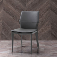Load image into Gallery viewer, Miranda Dining Chair Dark Grey Faux Leather