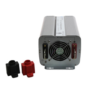 Modified Sine Inverters - Aims Modified Sine Power Inverter 2000 Watt  GFCI ETL Listed Conforms To UL458 Standards