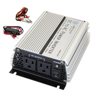 Modified Sine Inverters - Aims Modified Sine Power Inverter 400 Watt 12 Volt With Cables