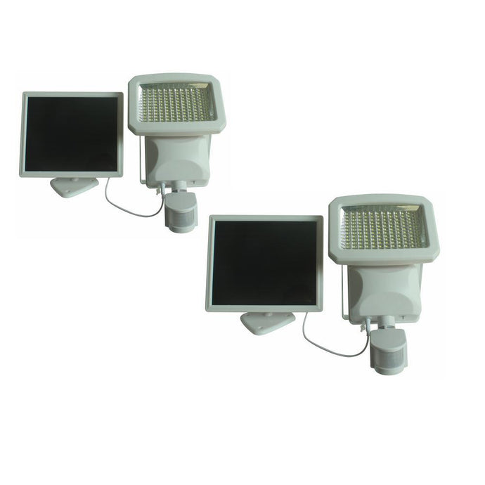 Nature Power Solar Lawn & Garden - NP 144 LED Triple Head Solar Motion Security Light (2 PK)