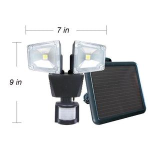 Nature Power Solar Lawn & Garden - NP Dual Head Solar Motion Security Light