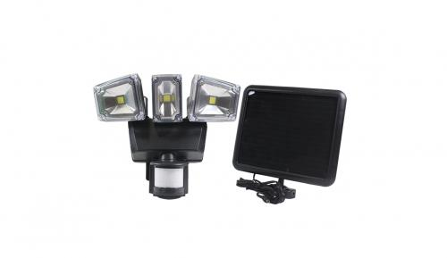 Nature Power Solar Lawn & Garden - NP Triple COB Solar Motion Security Light