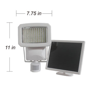 Nature Power Solar Lawn & Garden - NP Triple Head Solar Motion Security Light 144 LED