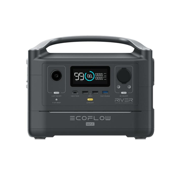 Portable Power Units - EcoFlow RIVER Max Portable Power Station
