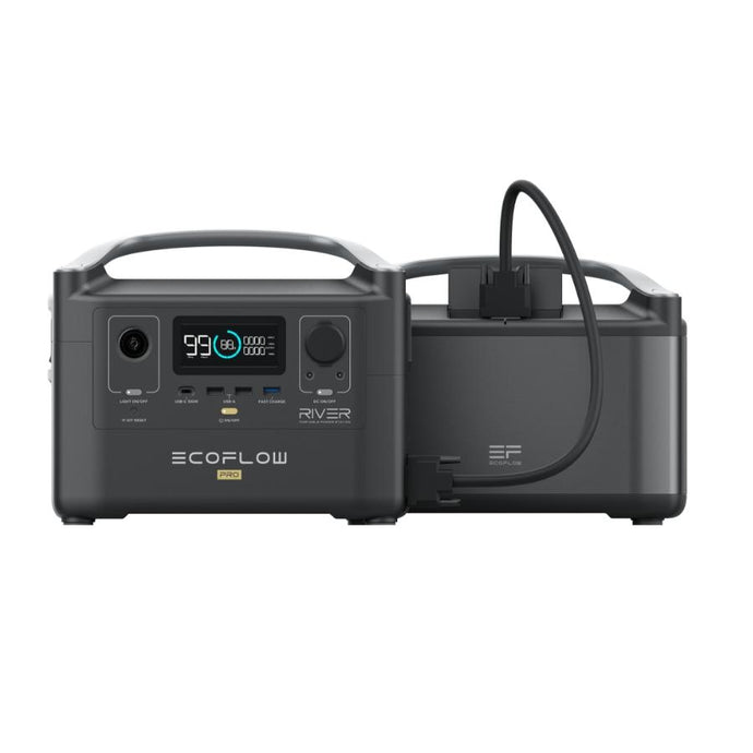 Portable Power Units - EcoFlow RIVER Pro + RIVER Pro Extra Battery Bundle
