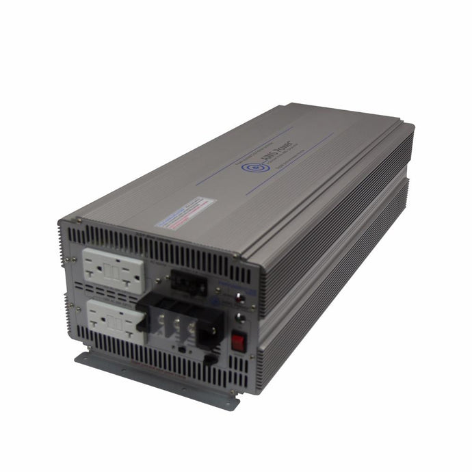 Pure Sine Inverters - Aims Pure Sine Inverter 5000 Watt - 48V 50/60 Hz- Industrial