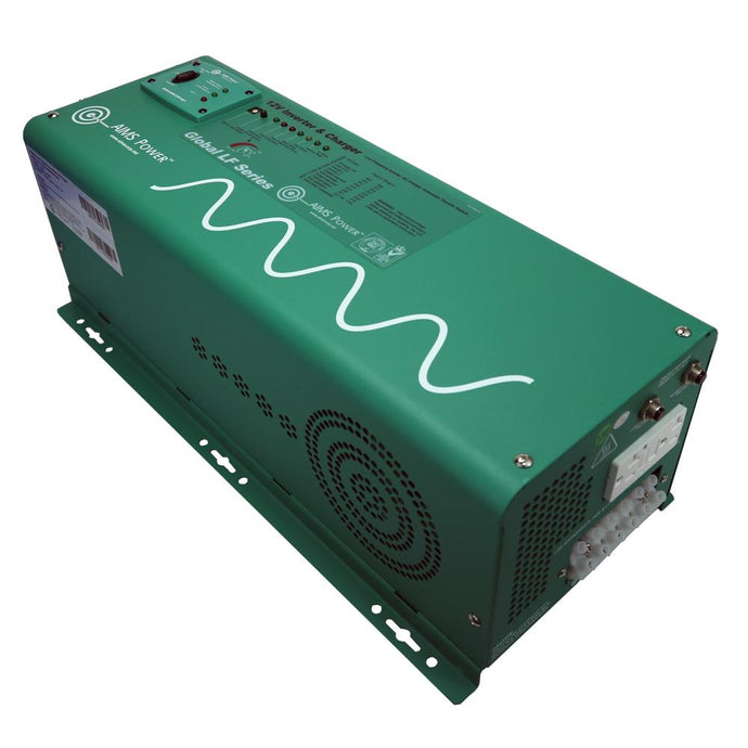 Pure Sine Inverters - Aims Pure Sine Inverter Charger 2500 WATT LOW FREQUENCY 12 VDC To 120 VAC