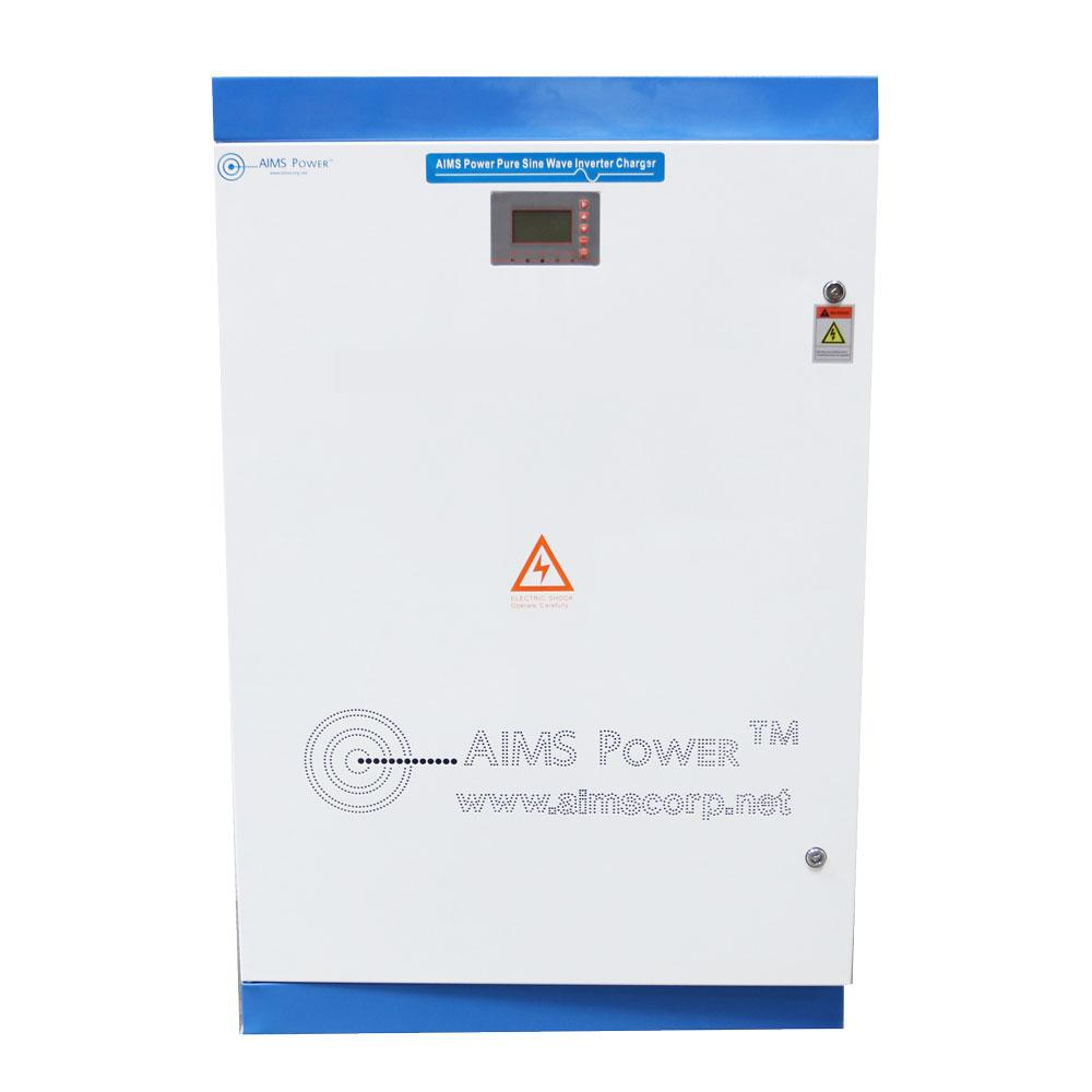 Pure Sine Inverters - Aims Pure Sine Inverter Charger 30KW 300 VDC 240 VAC SPLIT PHASE