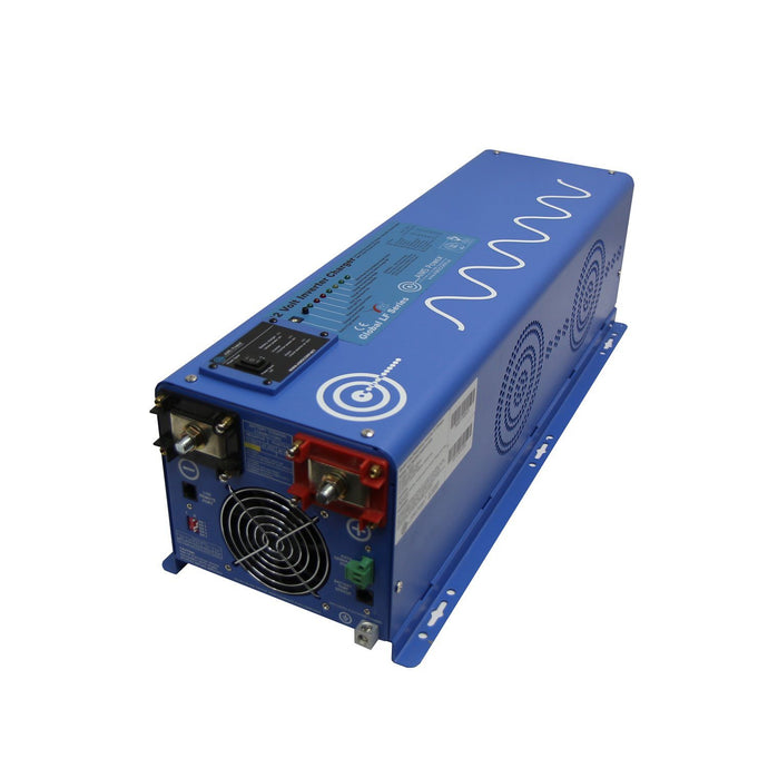 Pure Sine Inverters - Aims Pure Sine Inverter Charger 4000 Watt 48Vdc / 240Vac Input & 120/ 240Vac Split Phase Output