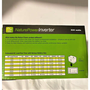 Pure Sine Inverters - NP Sinewave Inverter 400 Watt
