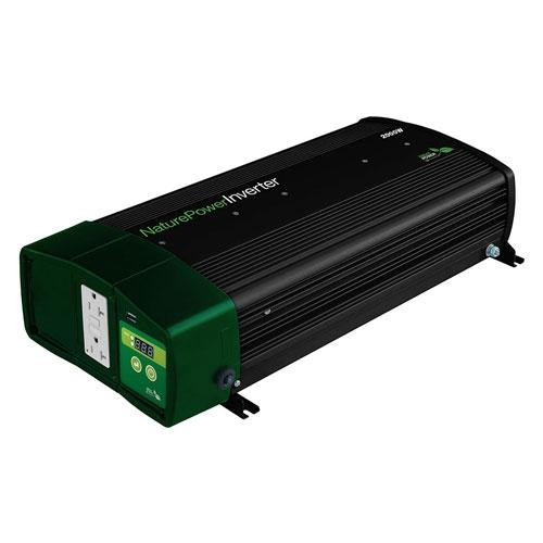Pure Sine Inverters - NP Sinewave Inverter Charger 2000 Watt  Plus 55 Amp