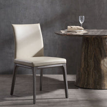 Load image into Gallery viewer, Stella Dining Chair With Taupe Faux Leather