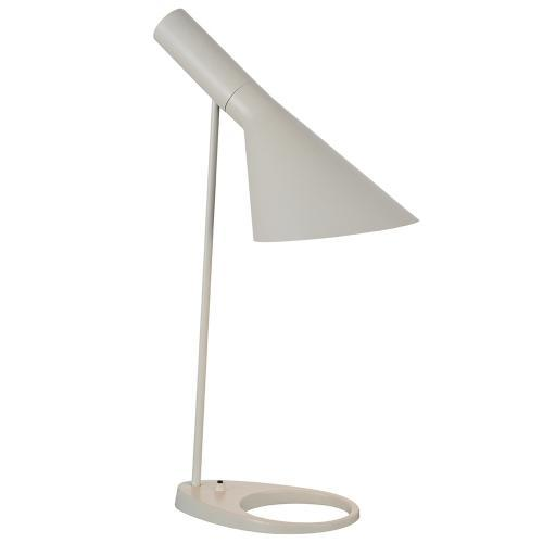 Xavier Table Lamp White Metal