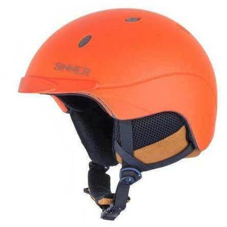 SINNER Skihelm Titan Unisex - Neon Orange Matt