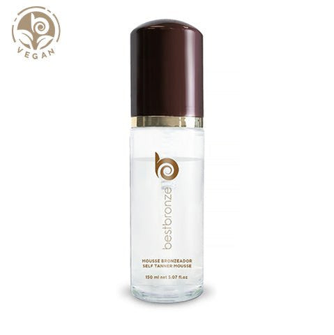 Autobronzeador Clear Mousse Vegan Bronzeador - 150ml