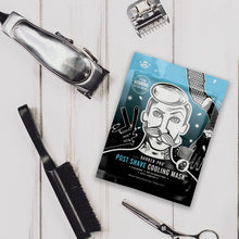 Load image into Gallery viewer, Barber Pro POST SHAVE COOLING MASK with Anti-Ageing Collagen