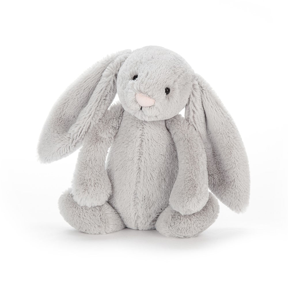 Jellycat Bashful Bunny Small, Silver